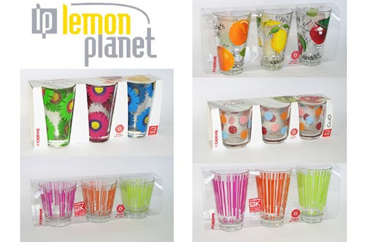 NOVO! Čaše - Lemon Planet